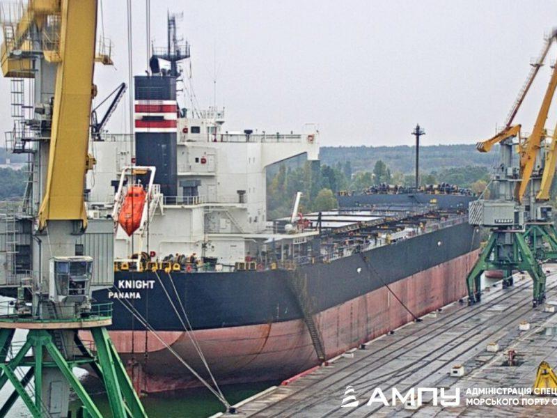 Порт Ольвия принял самое большое судно в 2019 году (ФОТО)