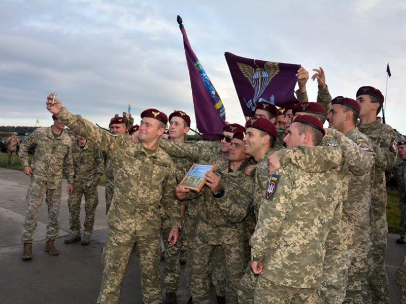 У николаевских десантников – «серебро» конкурса на лучшее однотипное подразделение ВСУ (ФОТО)