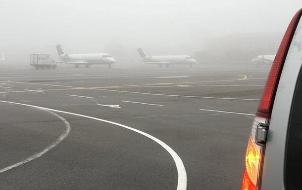 В аэропортах Киева задерживаются рейсы из-за тумана
