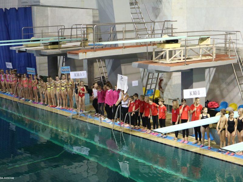 В Николаеве стартовал чемпионат Украины по синхронному плаванию среди детей «Українська зіронька» (ФОТО)