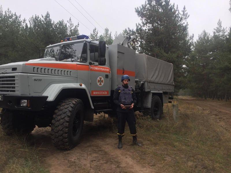 Спасатели Николаевщины обезвредили 4 артснаряда (ФОТО)