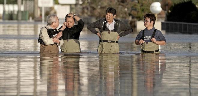 Количество жертв тайфуна в Японии выросло вдвое (ФОТО)
