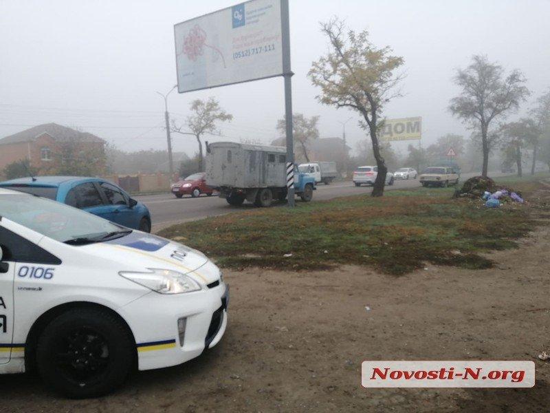 В Николаеве на пешеходном переходе сбили пенсионерку (ФОТО)
