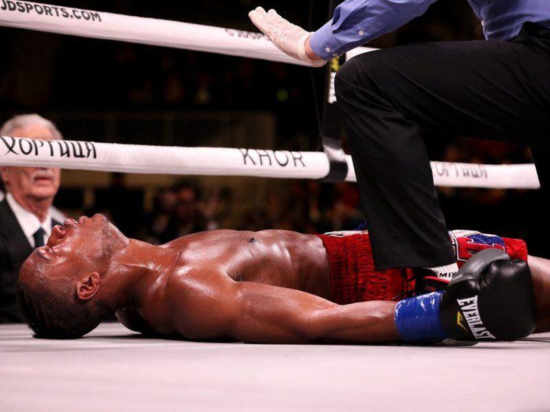 Последний бой. Умер боксер, жестко нокаутированный в  андеркарде поединка Александра Усика (ФОТО, ВИДЕО)