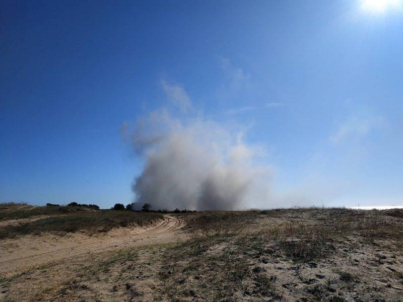 Николаевские спасатели обезвредили 78 взрывоопасных предметов, найденных в акватории Кинбурнской косы (ФОТО, ВИДЕО)