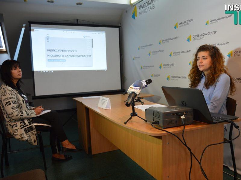 В рейтинге Индекса публичности органов местного самоуправления за 2018 год Николаев – на 20-м месте