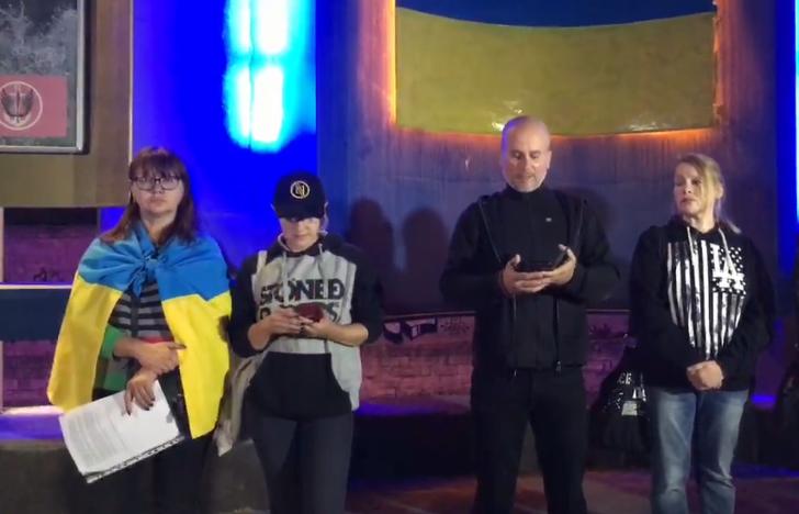 Формула Штайнмайера: жители Николаева снова вышли на протест (ТРАНСЛЯЦИЯ)