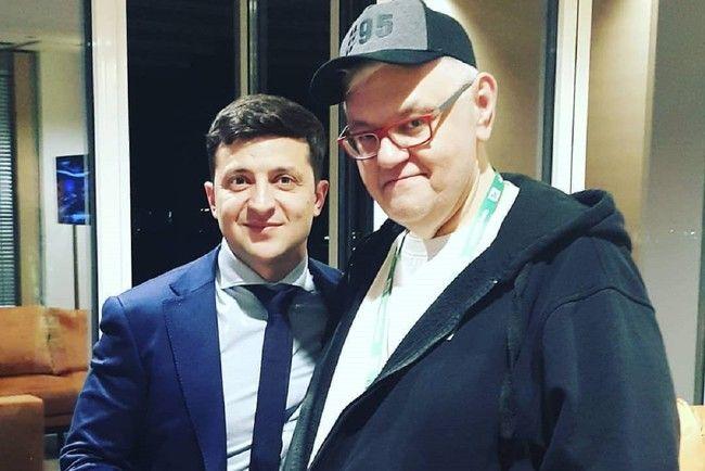 Шоумен Сивохо стал советником секретаря СНБО