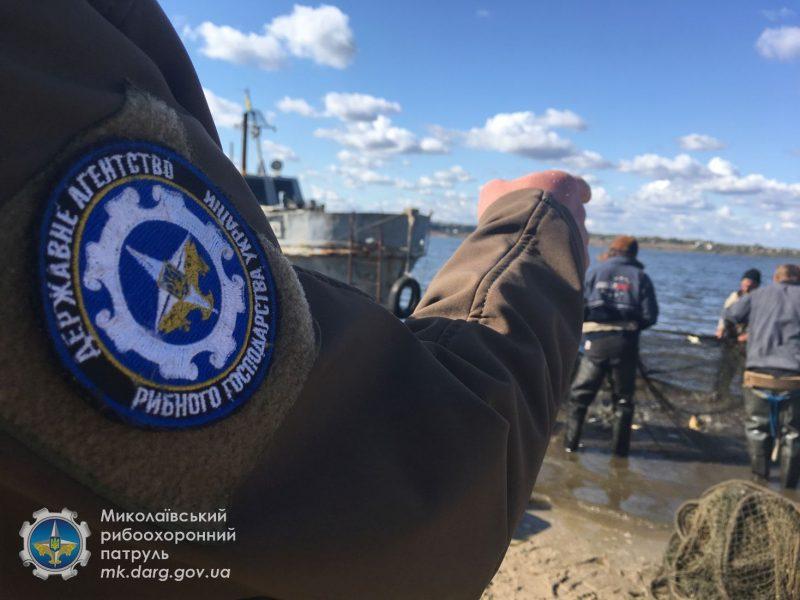 На Ингуле под Николаевом поймали браконьера с 8 кг рыбы (ФОТО)