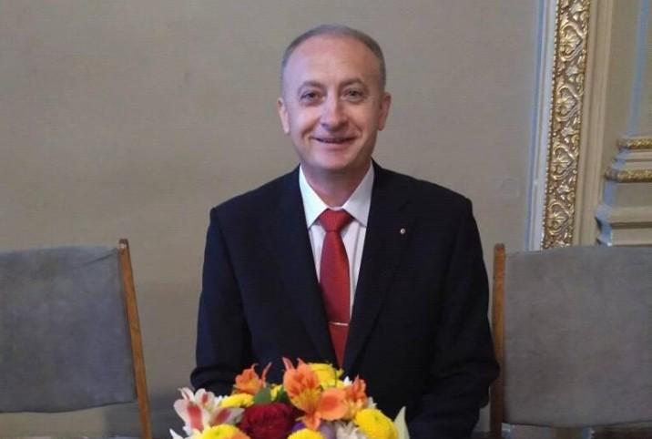 Николаевский поэт Георгий Фоменко получил престижную Международную премию и презентовал свою книгу в Киеве (ФОТО)