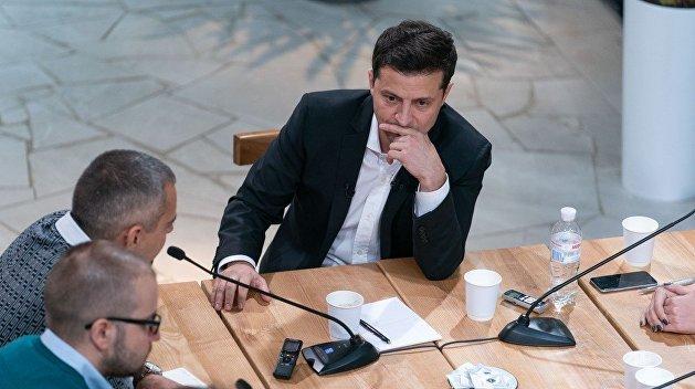 """""""Я не доверяю никому"""", – Зеленский о политиках"""