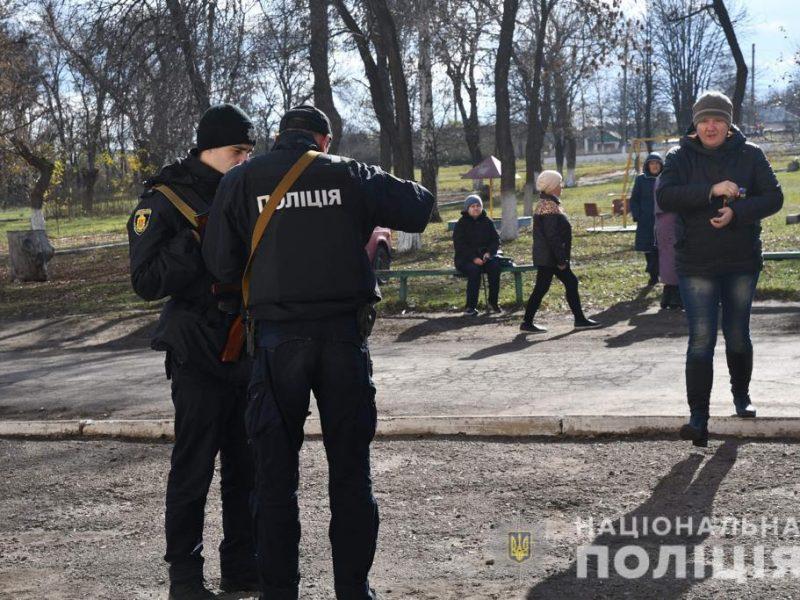 Полиция контролирует все въезды и выезды в Золотом-4 (ФОТО, ВИДЕО)