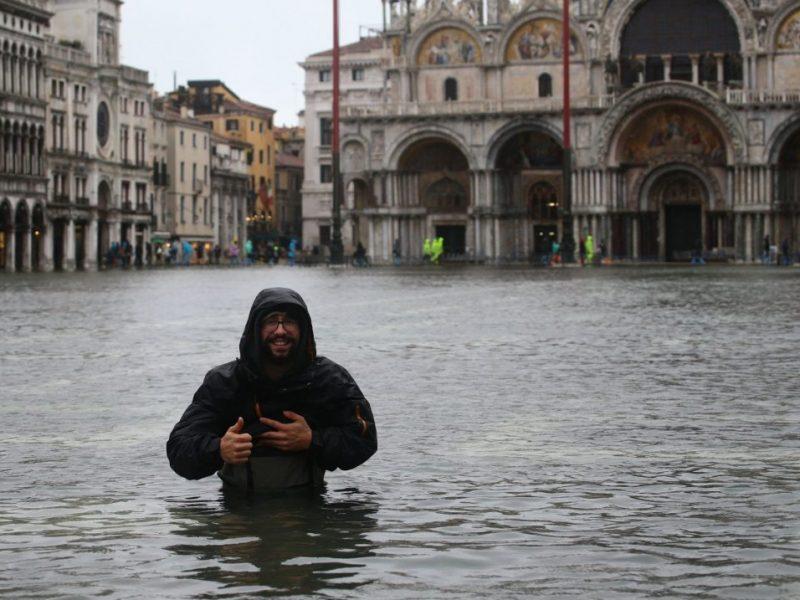 Из-за наводнения в Венеции объявлено чрезвычайное положение