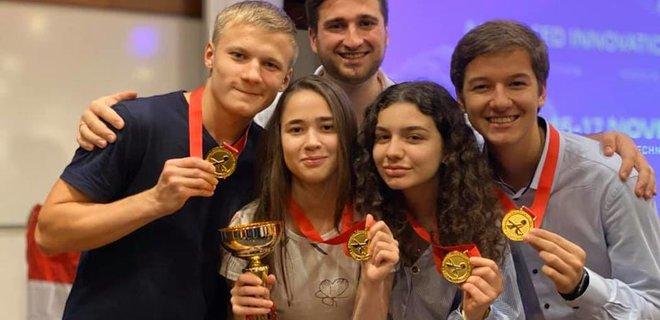 Четверо учащихся Малой академии наук Украины одержали победу на Глобальном конкурсе инноваций AIGC-2019
