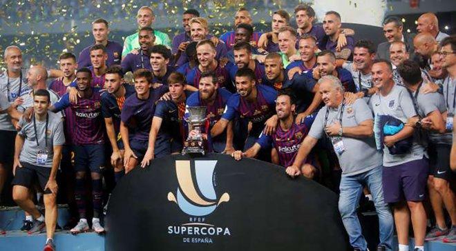 Испанские телеканалы решили бойкотировать Суперкубок Испании по футболу