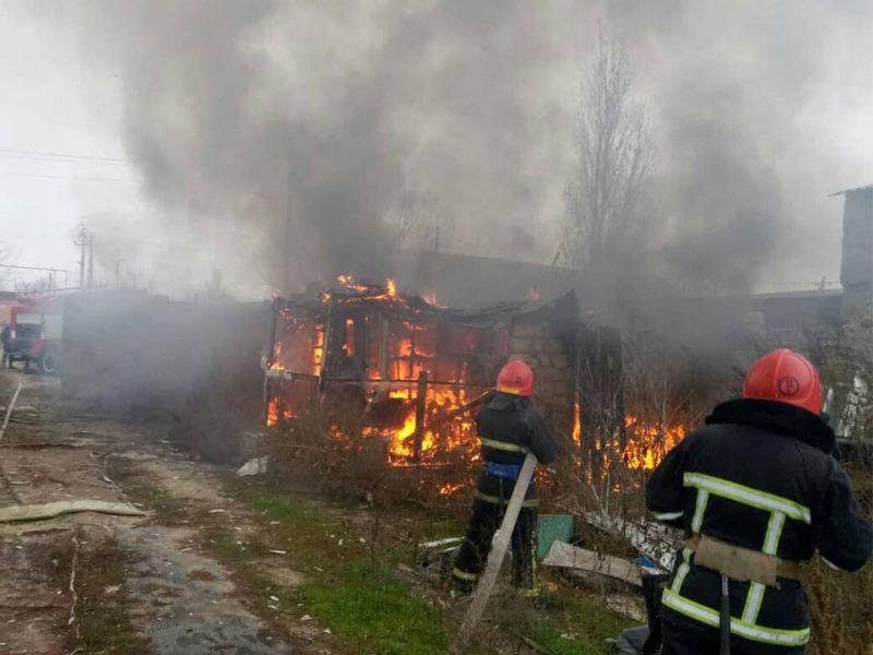 На Николаевщине трижды горели неэксплуатируемые здания (ФОТО)