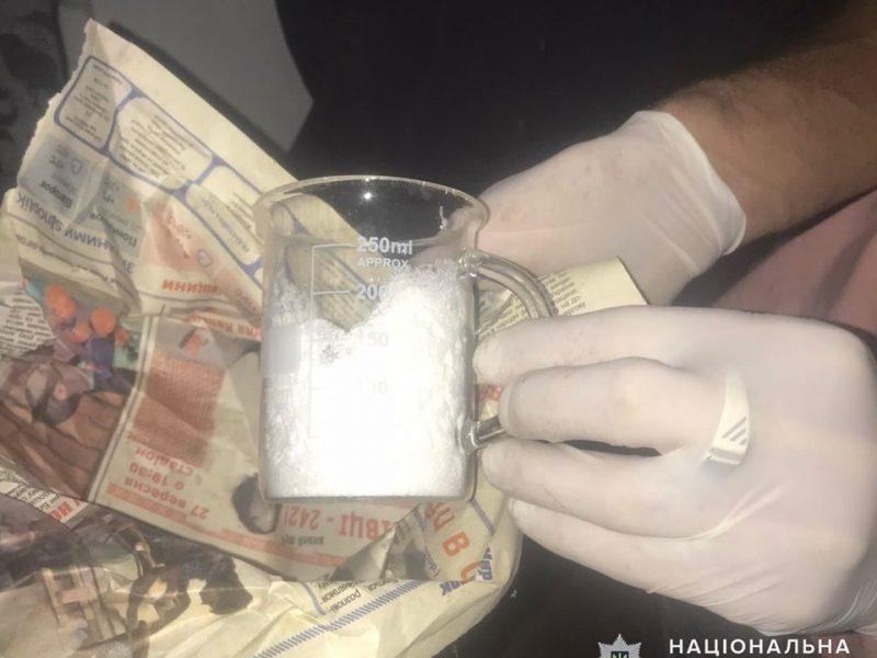 На Николаевщине полиция искала коноплю, а нашла лабораторию для производства амфетамина (ФОТО)