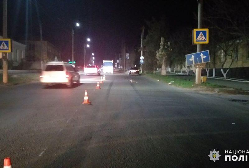 В Новой Одессе женщину сбила машина на пешеходном переходе (ФОТО)