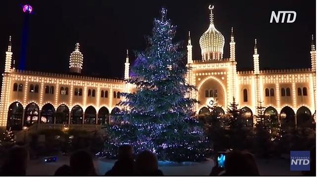Свято наближається: с какими елками в столицах Европы встретят Рождество (ВИДЕО)