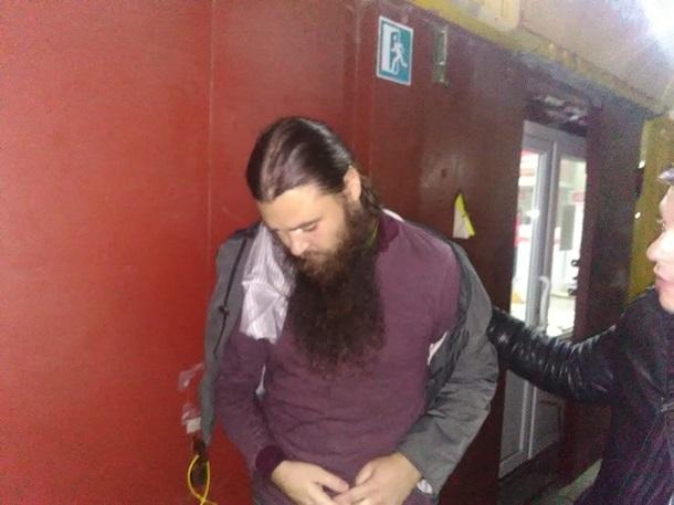 В Запорожье задержали священника с наркотиками (ФОТО)