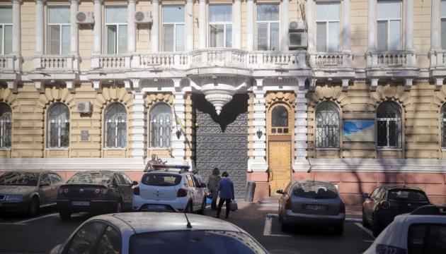В здании одесской полиции обрушился потолок, пострадали двое копов (ФОТО)