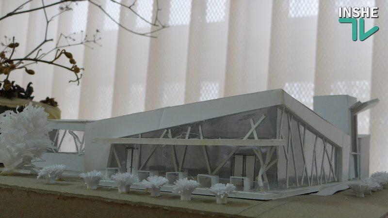 Воспитать архитектора: в Николаевском строительном колледже открылась выставка творческих работ студентов (ФОТО, ВИДЕО)