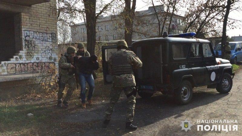 Бойцы спецподразделения «Святой Николай» приняли участие в учебном задержании вооруженной банды и освобождении заложника (ФОТО, ВИДЕО)