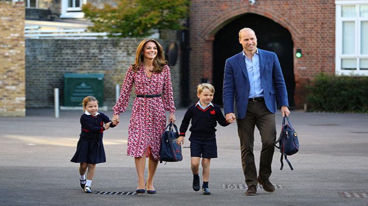 Британская принцесса Кейт Миддлтон не вышла в свет из-за того, что не с кем было оставить детей