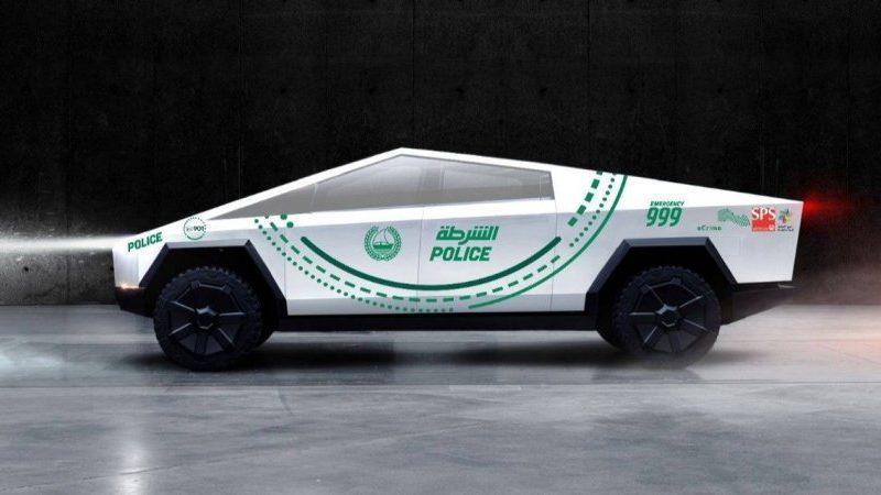 Полиция Дубая закупит Tesla Cybertruck, чтобы патрулировать туристические районы
