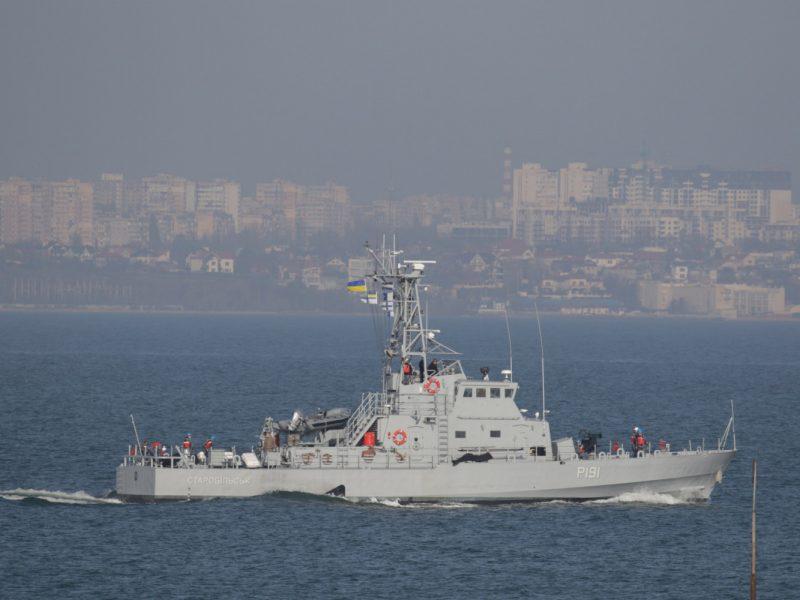 В Одессе прошли испытания патрульных катеров, переданных США