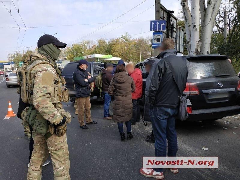 """В Николаеве  задержали чеченского """"авторитета"""" Апти Ислангириева и еще несколько человек"""