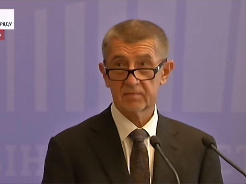 Говорили о долгах Украины времен СССР. Зачем еще приехал премьер Чехии (ВИДЕО)