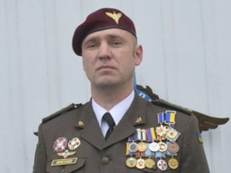 Командира 128-й бригады Коростелева посмертно наградили орденом Богдана Хмельницкого