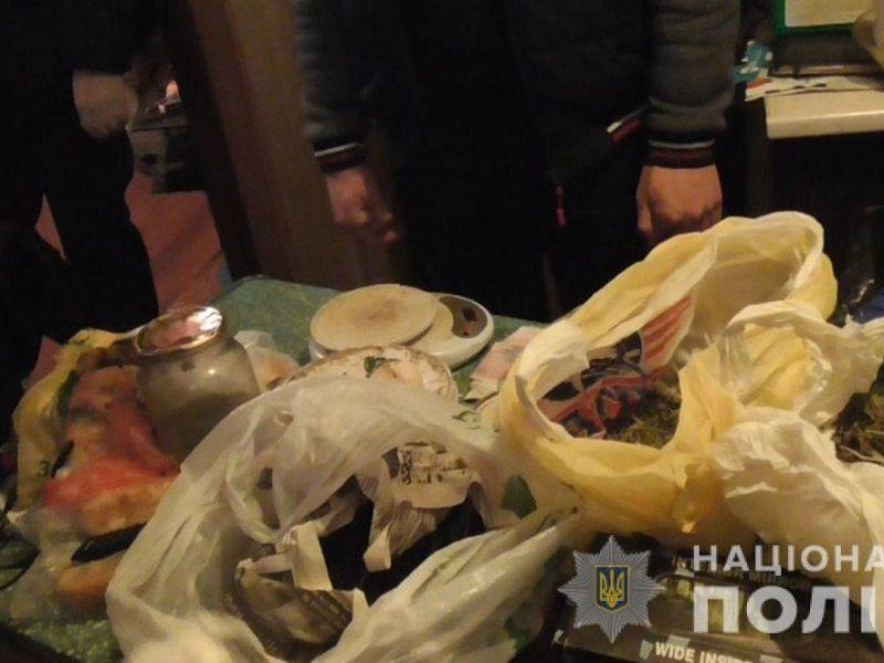 У двух жителей Вознесенска полиция изъяла 7 килограммов каннабиса (ФОТО)