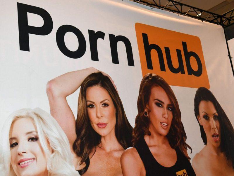 Сторонники Китая используют Pornhub  для борьбы с протестующими  Гонконга