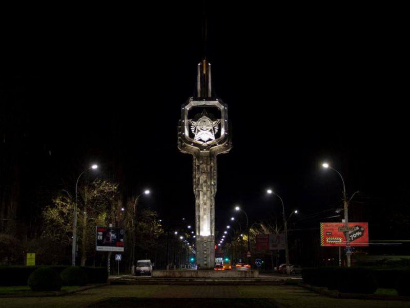 Один из главных проспектов Николаева получил современное освещение (ФОТО)
