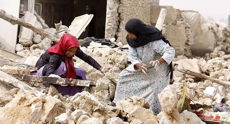 В Иране произошло смертельное землетрясение (ВИДЕО)
