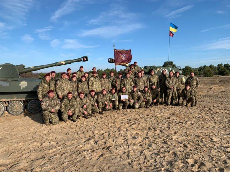 Николаевские десантники-артиллеристы победили в профессиональном всеармейском конкурсе (ФОТО)