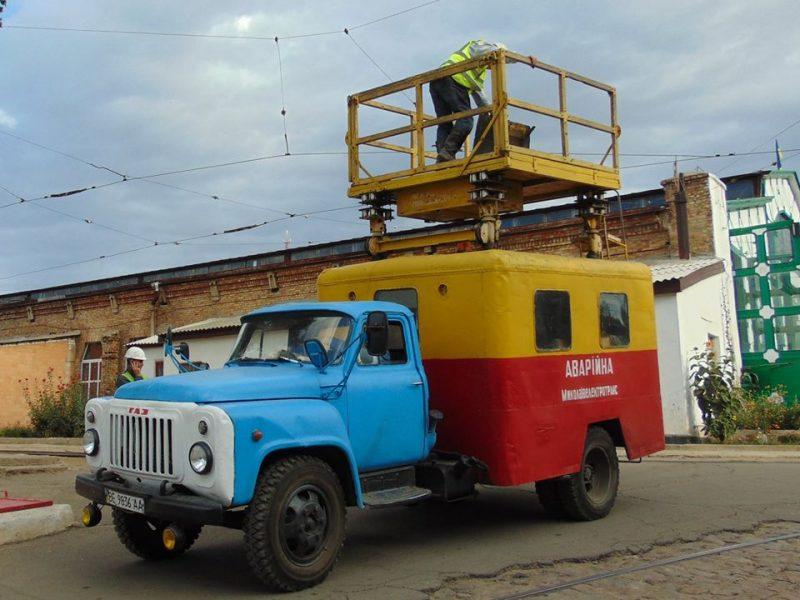 Завтра в Николаеве троллейбусы временно не будут ходить на Намыв