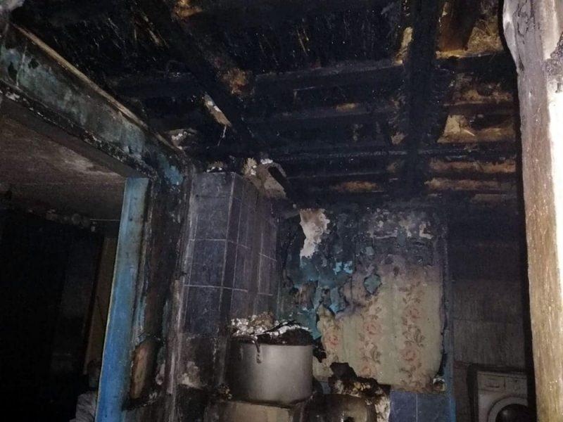 Напортачили с дымоходом: в Витовском районе тушили летнюю кухню (ФОТО)
