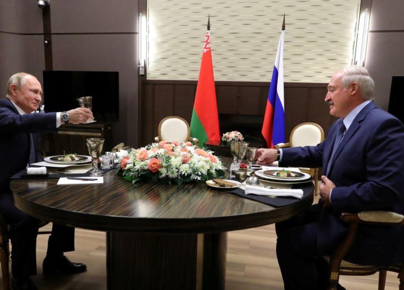 Интеграции Беларуси с РФ пока не будет – Путин и Лукашенко не подписали никаких документов