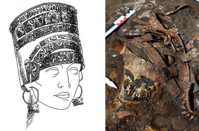 Археологи нашли на Дону захоронение скифских амазонок