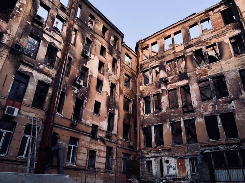 Пожар в Одессе: Зеленский объявил 8 декабря днем траура по жертвам одесской трагедии