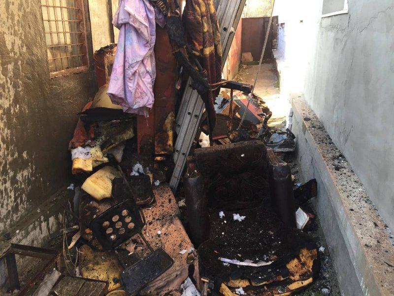 На пожаре в Снигиревке чуть не погибла женщина – она в реанимации (ФОТО)