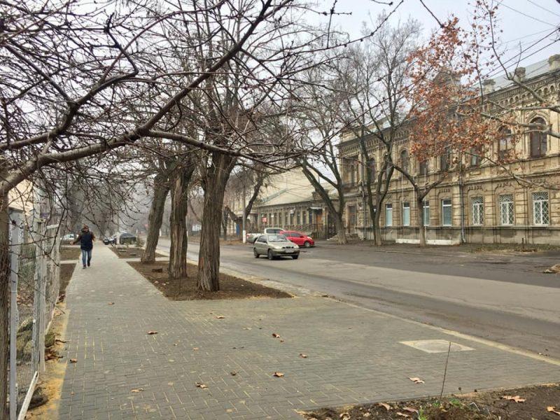 В Николаеве привели в порядок часть улицы Спасской (ФОТО)