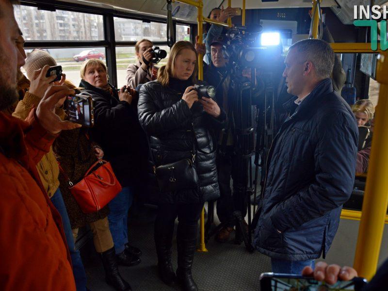 Сенкевич сказал, что «город пролетает» с покупкой новых троллейбусов из-за Антимонопольного комитета (ВИДЕО)