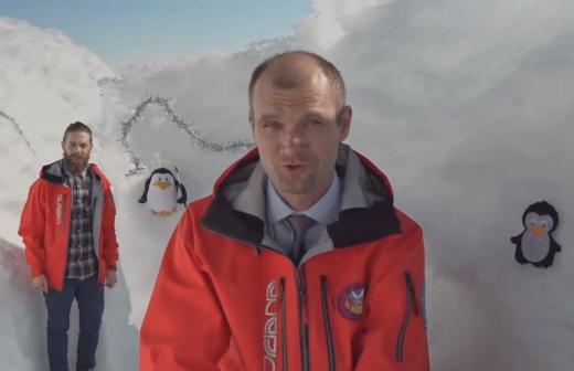 Ученые из Антарктиды поздравили украинцев с Новым годом (ВИДЕО)