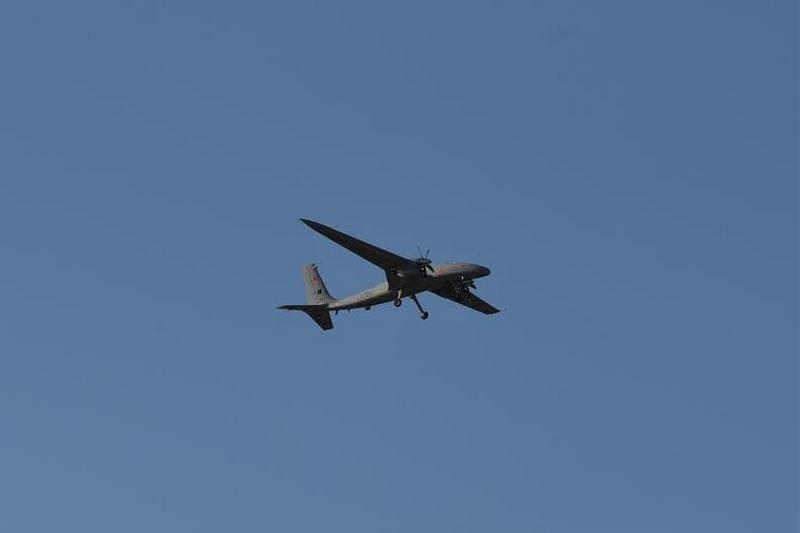 Турецкий ударный БПЛА  Akıncı с украинскими двигателями совершил первый полет (ФОТО, ВИДЕО)