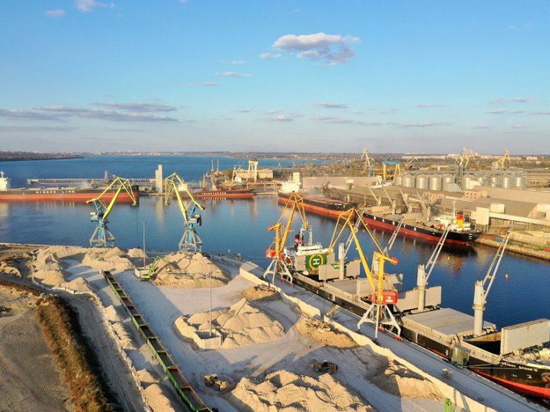 Николаевский порт «Ника-Тера» за первый квартал перевалил 1,42 млн.тонн грузов
