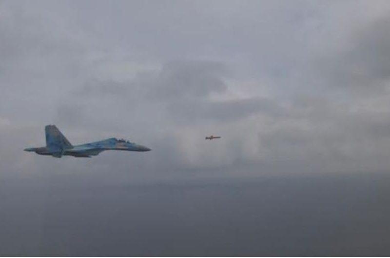 Появились новые кадры с испытанием украинской крылатой ракеты (ВИДЕО)